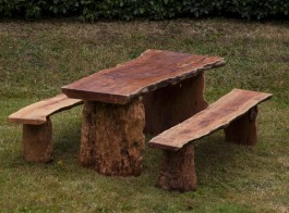 Root Table and Benches by Anon. Unknown