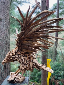 Flying Eagle by Anon, Unknown at The Sculpture Park