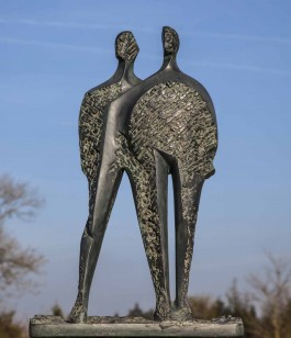 Him plus Her at The Sculpture Park