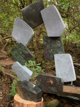 The Life of an Artist by Bywell Sango at The Sculpture Park