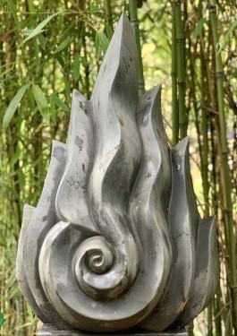 Buddha Flame by Joan Roberts