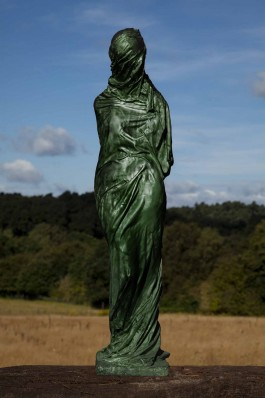 Draped Form by Caroline Stacey at The Sculpture Park