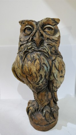 Owl by David Cooke at The Sculpture Park