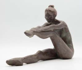 Danseuse by Raffaella Benetti, Bronze, The Sculpture Park