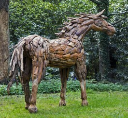 Driftwood horse, Unique, The Sculpture Park