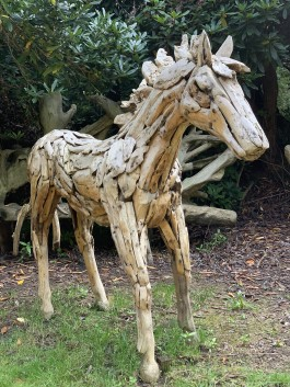 Driftwood Horse 2 by Anon Unknown at The Sculpture Park