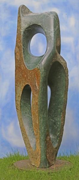 Homage to Barbara by Emmanuel Changunda at The Sculpture Park