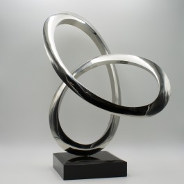 Small Infinity Curve, Stainless Steel, The Sculpture Park