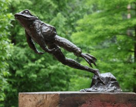 Leaping Frog by John Cox