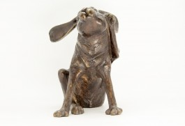 Scratching Hare by John Cox at The Sculpture Park