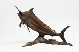 Black Marlin by Len Jones at The Sculpture Park