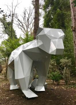 Polo the Polar Bear by Liam Hopkins at The Sculpture Park