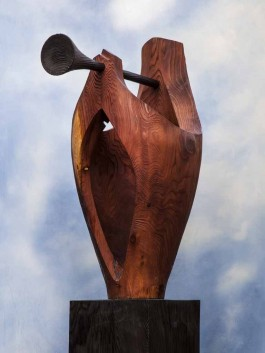The Herald by Liam O'Neill at The Sculpture Park