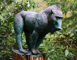 Baboon by Lucy Kinsella at The Sculpture Park