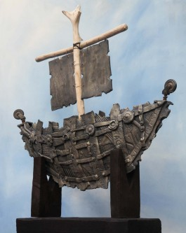 Viking Longboat by Mark Smith