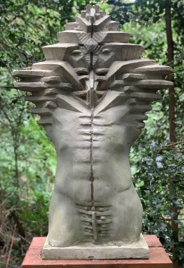 Multidimensional Torso by Toma Nenov at The Sculpture Park