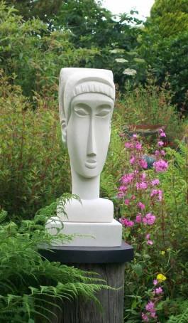 Modi Head by Nicola Axe at The Sculpture Park