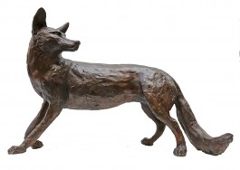 Walking Fox by Paul Jenkins