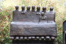 The Bench by Peter Hayes at The Sculpture Park