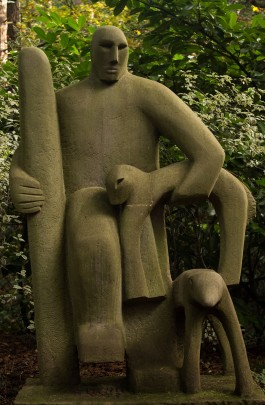 Shepherd by Richard Lawrence at The Sculpture Park