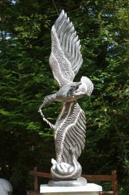 In Flight by Shepard Deve at The Sculpture Park