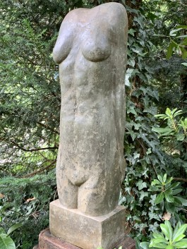 Stylised Female Torso by Keith Newstead at The Sculpture Park