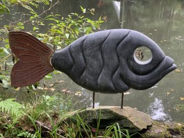 The Big Fish by Emmanuel Changunda at The Sculpture Park
