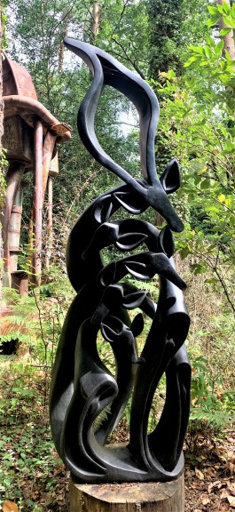 United Family by Funga Dodzo at The Sculpture Park