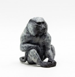 Sitting Baboon by Anon Unknown