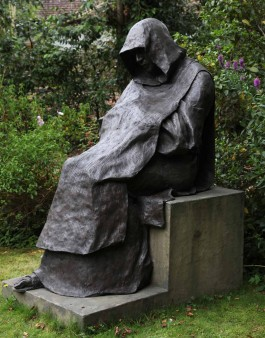 Monk in Contemplation by William Lazard