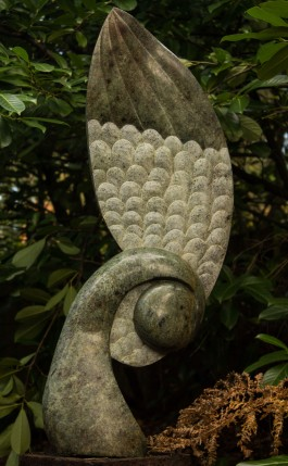 Winged Seed Pod by Arei Mar at The Sculpture Park