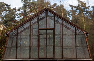 Small Iron Framed Greenhouse by 20th Century at The Sculpture Park