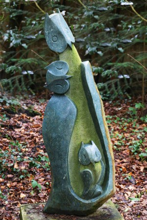 Owl Family by A.S. Jasi at The Sculpture Park