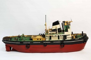 A large scale model of the tug boat 'St Budoc', well detailed and fitted with an electric motor (untested)