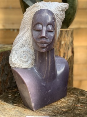 African Beauty by Rufaro Murenza at The Sculpture Park