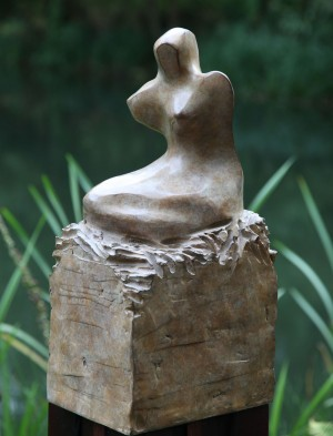 Kneeling Figure by Alex Davies