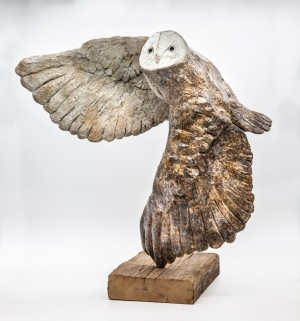 Barn Owl by Andrew Roache at The Sculpture Park