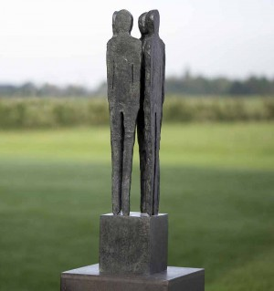 Whispering by Ann Vrielinck at The Sculpture Park