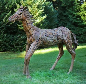 Driftwood Horse at The Sculpture Park