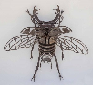 Stag Beetle Sculpture at The Sculpture Park