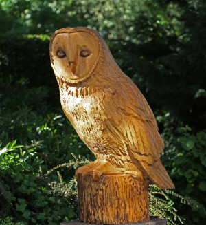 Owl by Ant BeatleStone at The Sculpture Park
