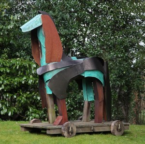 Trojan Horse by Antonia Spowers
