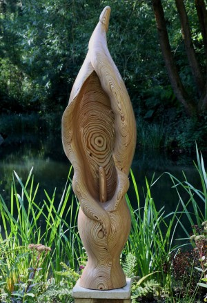 Arum Lily by Bill Prickett at The Sculpture Park