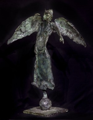 Accusing Angel by Bob Crutchley