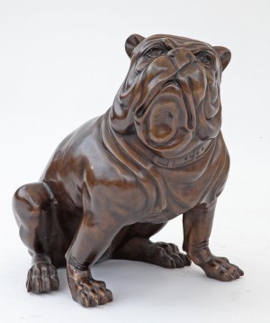 British Bulldog by Anon. Unknown