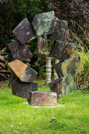 Balancing Rocks by Bywell Sango at The Sculpture Park