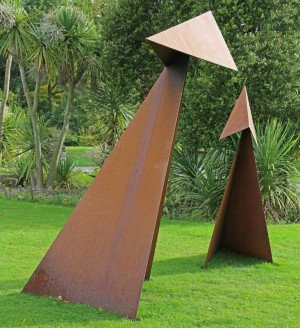 Large & Small Druid by Charlie Mallon at The Sculpture Park