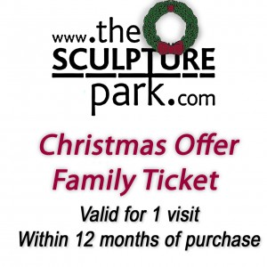 Family Discount Gift Voucher to The Sculpture Park