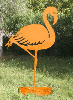 Flamingo d'orange by Danu