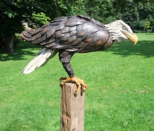Bald Eagle by David Cooke at The Sculpture Park